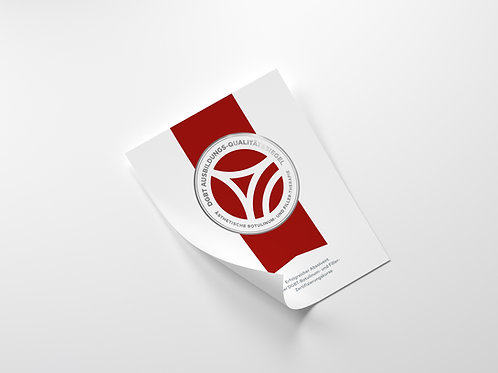 DGBT Ausbildungs- Qualitätssiegel