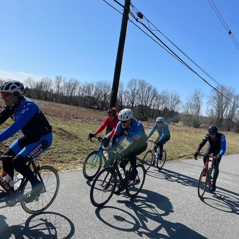Sunday Club Ride in March