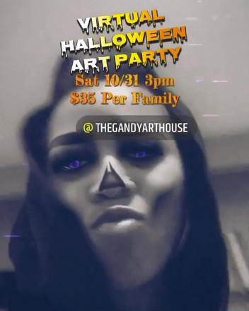GAH Halloween Art Party.MP4