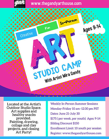 GAH Art Studio Summer Camp flyer 2021.jp