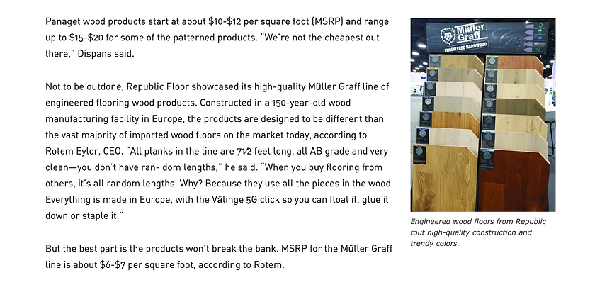 Republic Floor showcased its high-quality Müller Graff.png