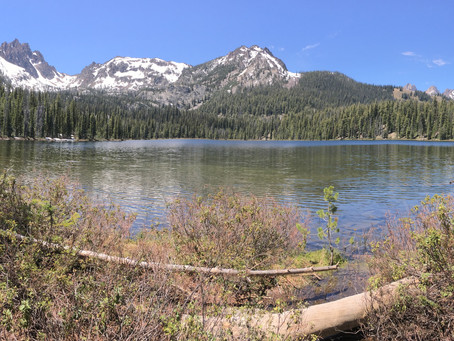 Hiking the High Sawtooth Trails