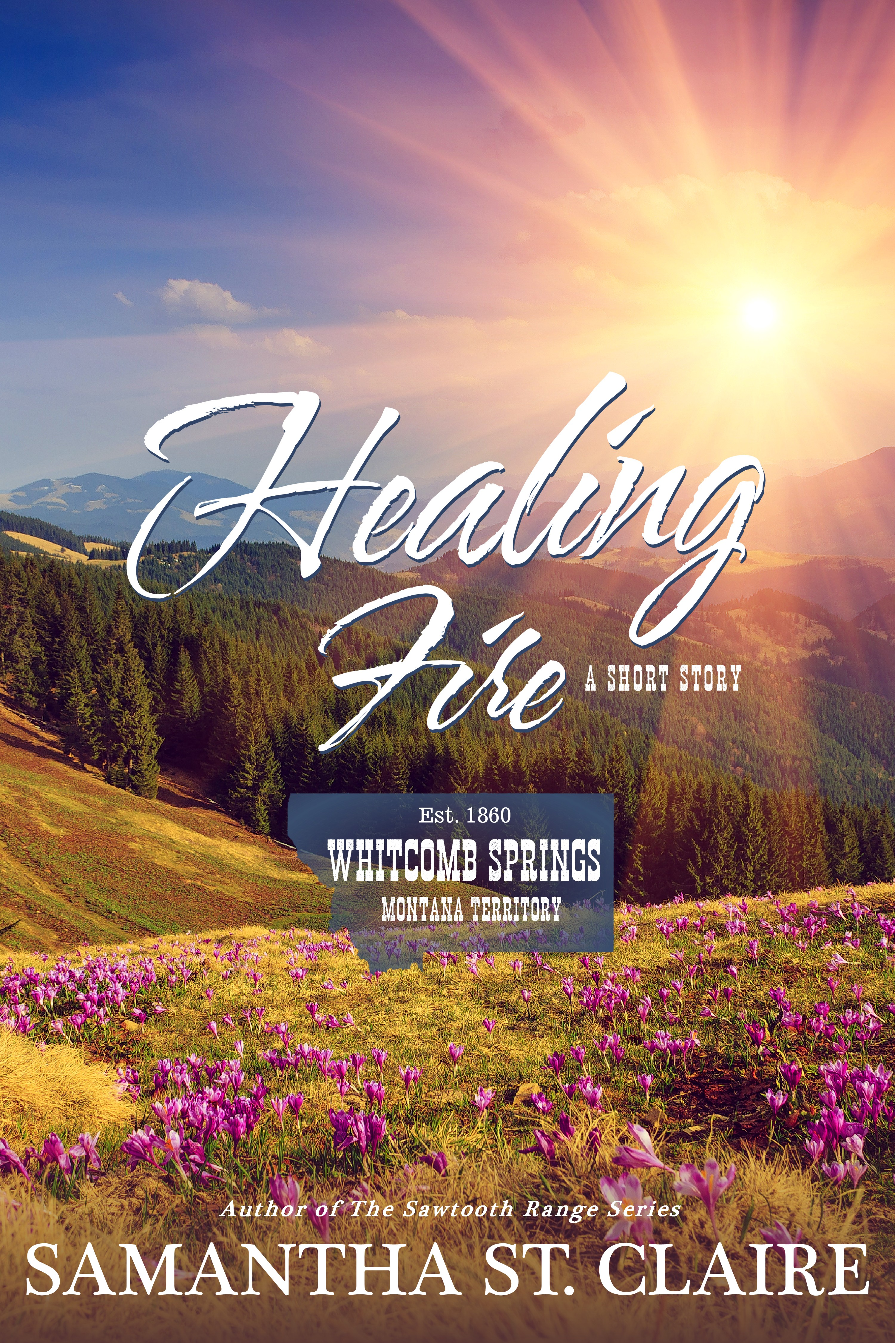 Healing Fire_Sam St. Claire_cover