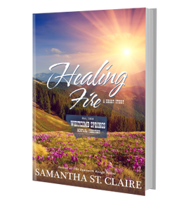 """Healing Fire"" by Samantha St. Claire"