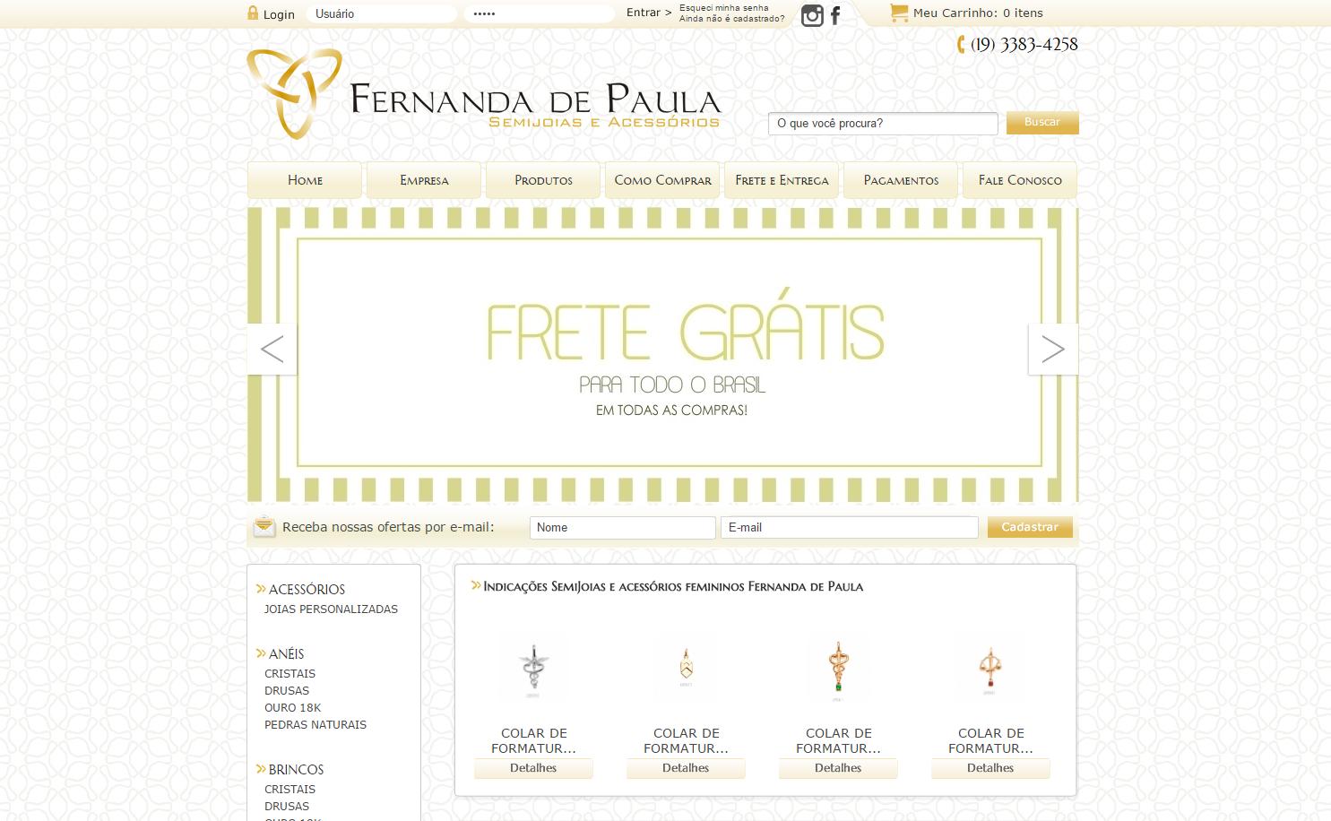 Loja Fernanda de Paula