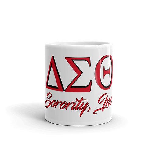 Delta Sigma Theta mug