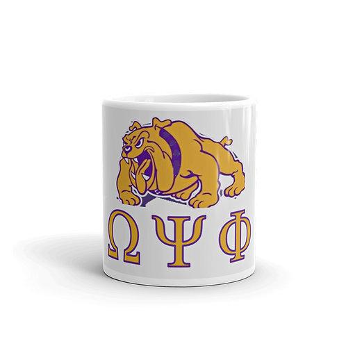 Omega Psi Phi mug