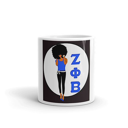 Zeta Girl mug 11 oz