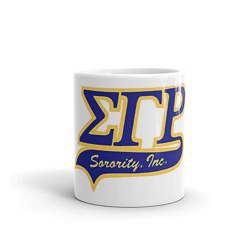 Sigma Gamma Rho Sorority mug