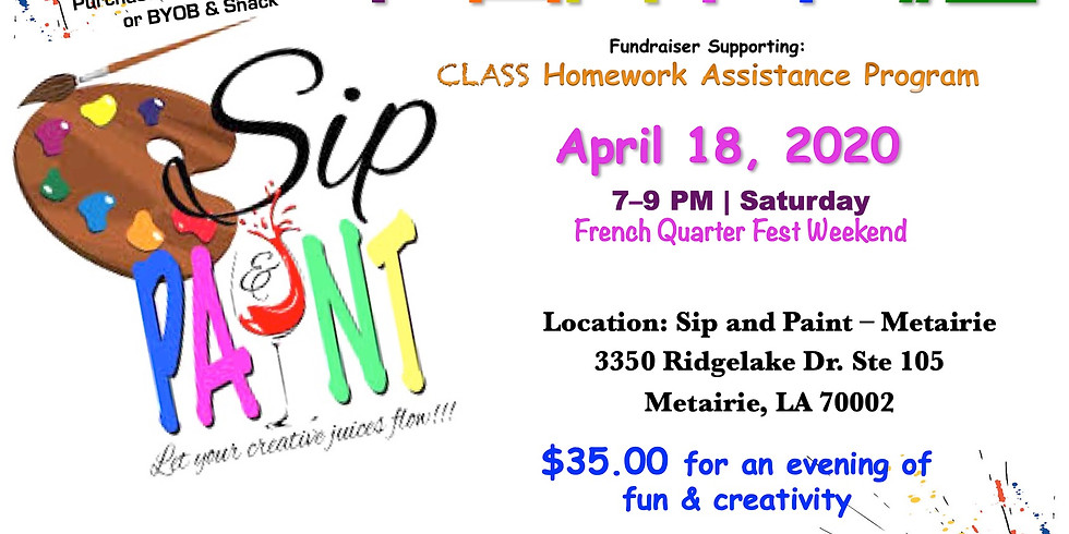 Sip and Paint Party #2