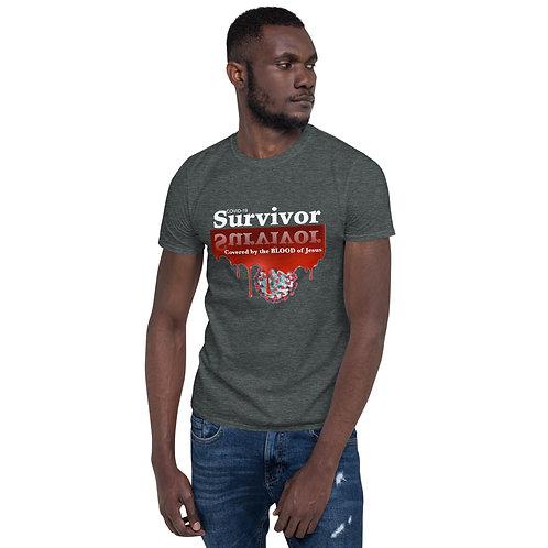 Blood of Jesus Survivor Crewneck Tee