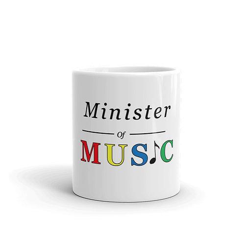 Minister of Music mug