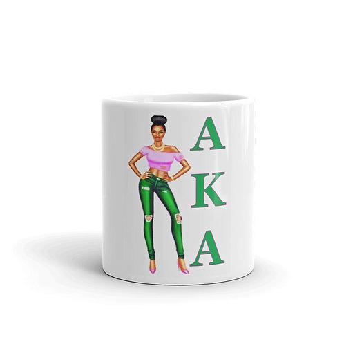 AKA Girl 11 oz mug