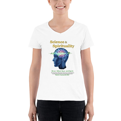 Women's Brain, Mind, Soul & Spirit Tee