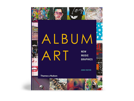 "Interview and work feature for John Foster's new book ""Album Art, New Music Graphics"""