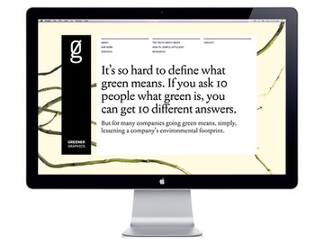 Greener Graphics