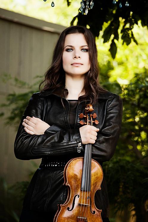 Violinist Bella Hristova. Photo by Lisa-Marie Mazzucco