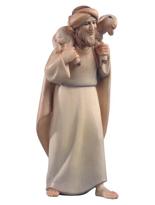 Hirt mit Schaf auf der Schulter,