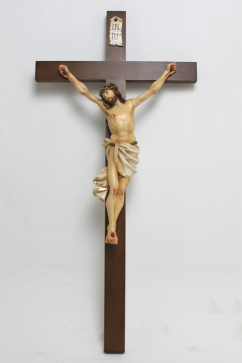 Jesus gekreuzigt corpus 35cm color
