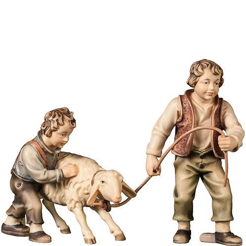 Buben mit störrischem Schaf, Preis für Beide Figuren