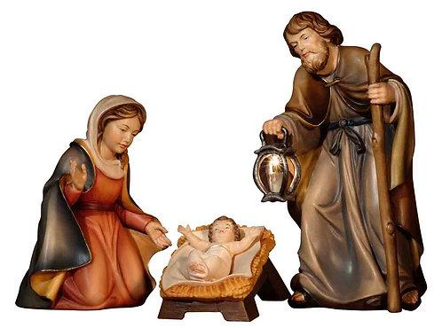 Bethlehem-Krippe mit Beleuchtung (Lampe des Hl. Josef)