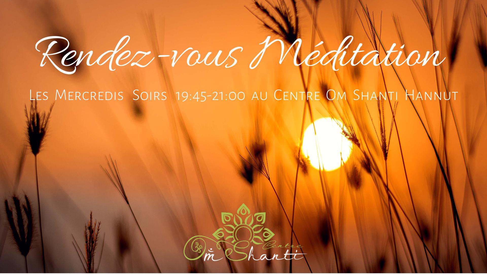 Rendez-vous Méditation | Avec Lida