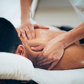 Massage du dos Assis