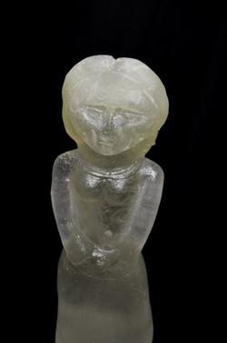 Aine glass sculpture front