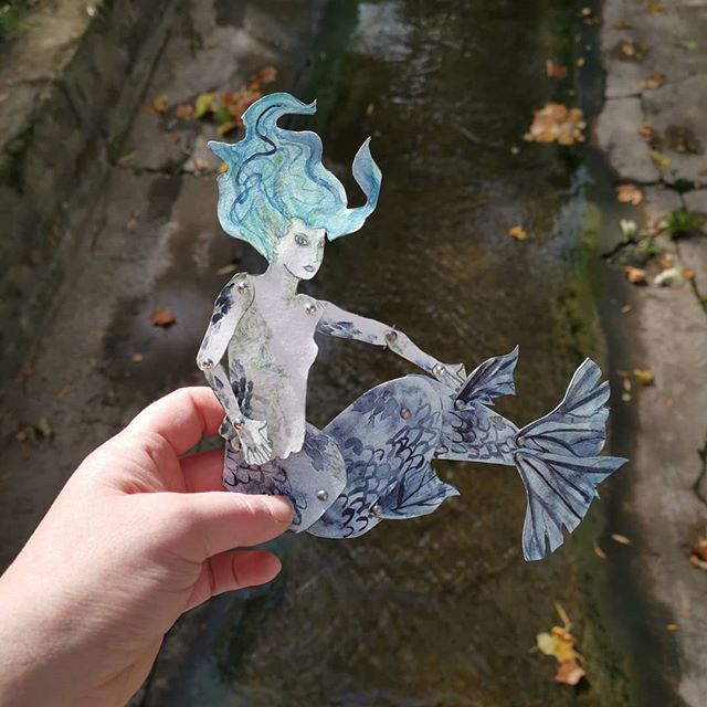 Not really enough water for a mermaid