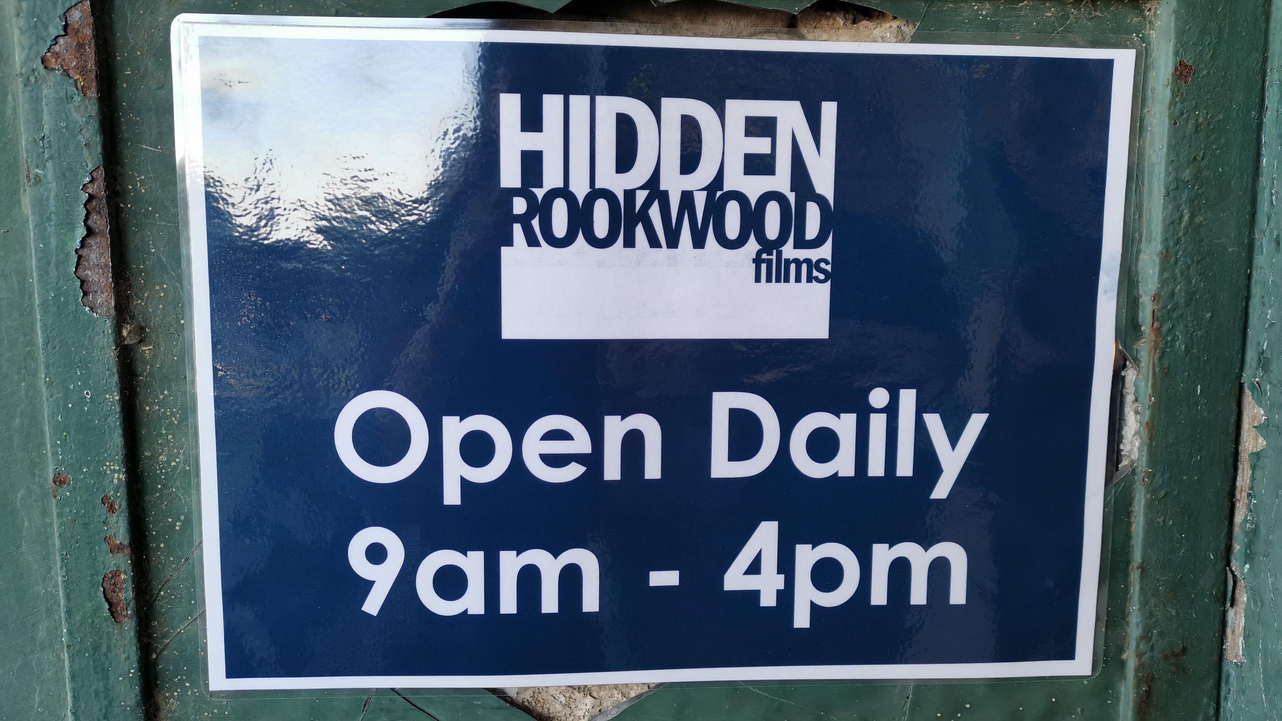 Hidden films sign