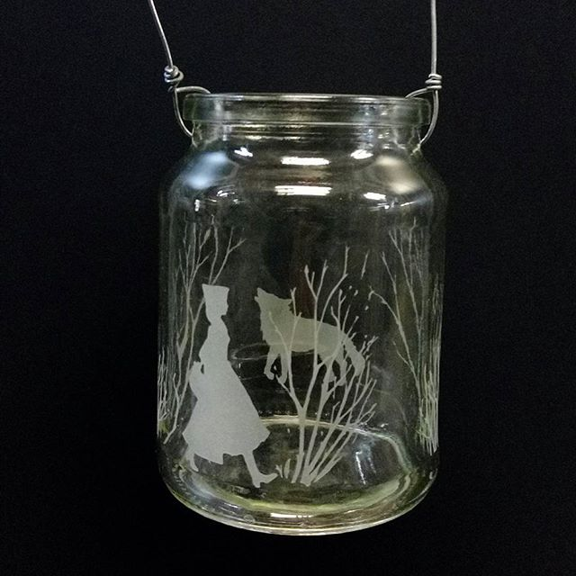 I've been making fairytale lanterns for the fairy grotto at the Winter glass market tomorrow
