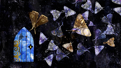 Flight to the dream portal wallpaper 202