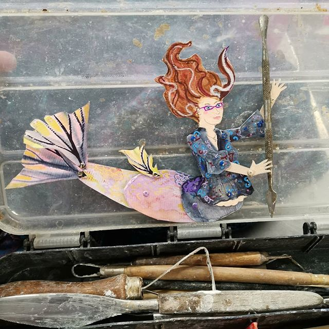 Sorting out my tool box__#mermay2019 #sc