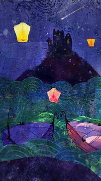 Enchanted lake Smartphone wallpaper.png
