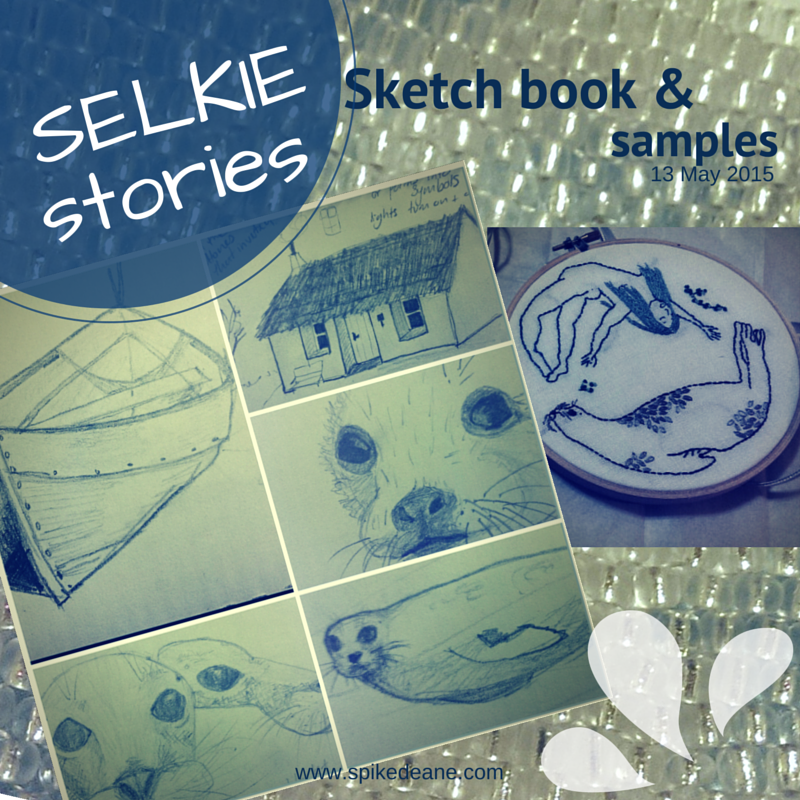 selkie stories, sketch book, seals, exhibition planning.png