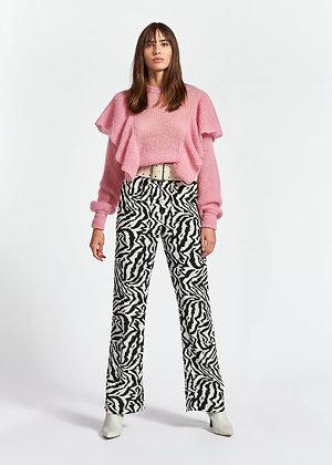 Pantalon ZEGETA print zebre Essentiel