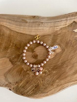 Bracelet perle rose Nala