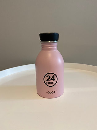Gourde Urban rose 250ml 24Bottles