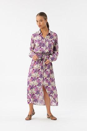 Robe chemise print day tropic Imprevu