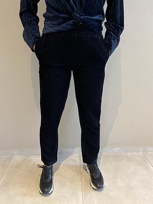 Pantalon velour noir Maison Scocth