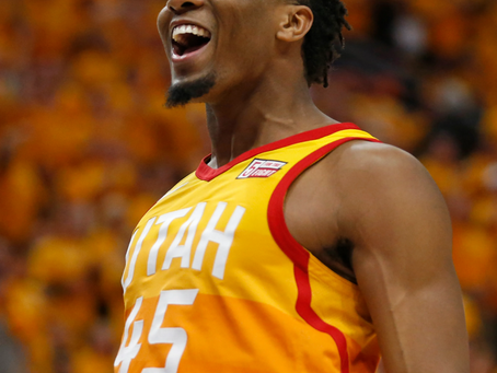 Donovan Mitchell explodes with 45 in Game 1 win over Clippers