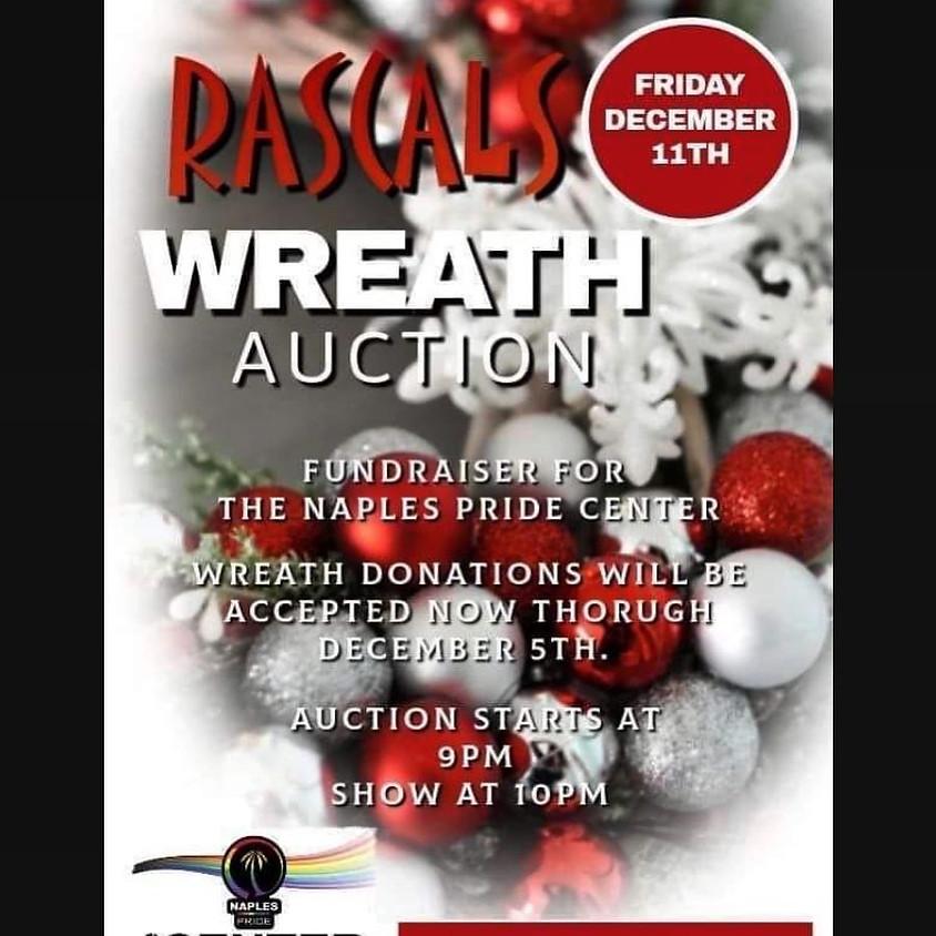 Rascals Wreath Auction