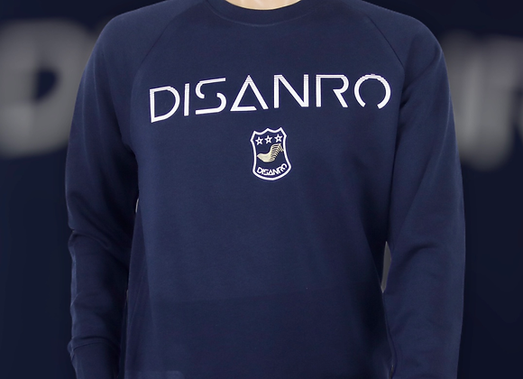 Sweat-shirt col rond Disanro avec Ecusson  homme
