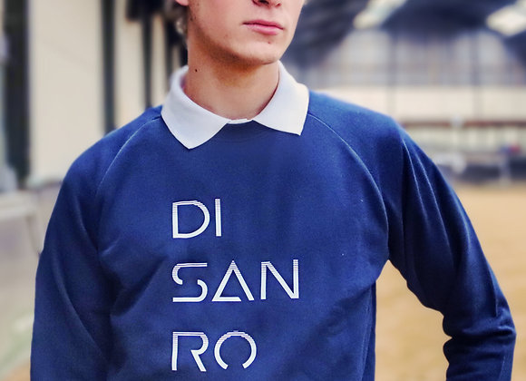 Sweet-shirt col rond Disanro décaler homme