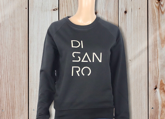 Sweet-shirt col rond Disanro décaler femme