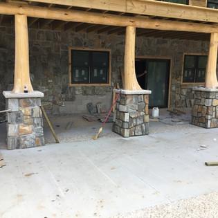 Cedar Flare Bottom Posts