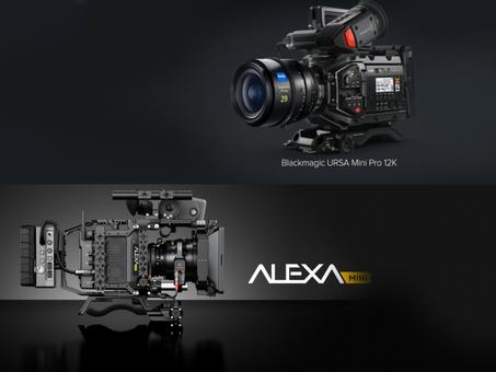 URSA 12K & Alexa Mini