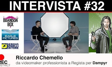 Riccardo Chemello | da videomaker professionista a Regista per Dampyr