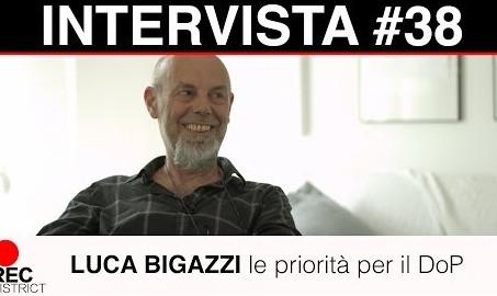 Luca Bigazzi | le priorità del DoP  Intervista integrale