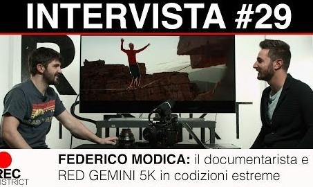 RED GEMINI 5K in condizioni estreme La vita da documentarista con Federico Modica